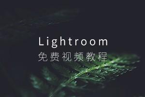 免费Lightroom中文视频教程