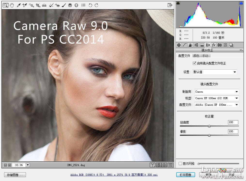 adobe camera raw 9.0下载,PS cc2014版acr