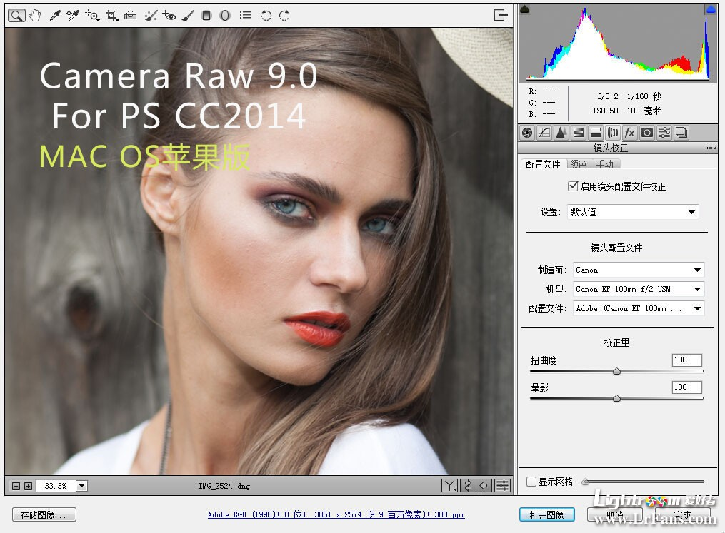 adobe camera raw 9.0 MAC下载,PS cc2014 MAC苹果版