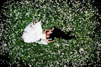 十种实用的婚礼新人摄影姿势